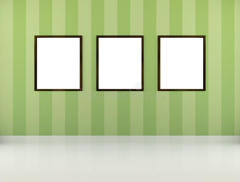 Bildramar stock illustrationer