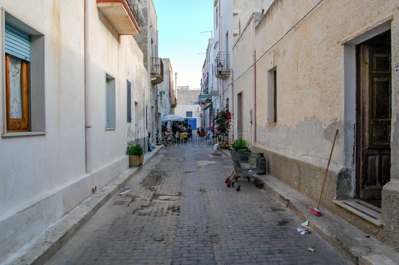 Bildsikt av den Egadi ön royaltyfri foto