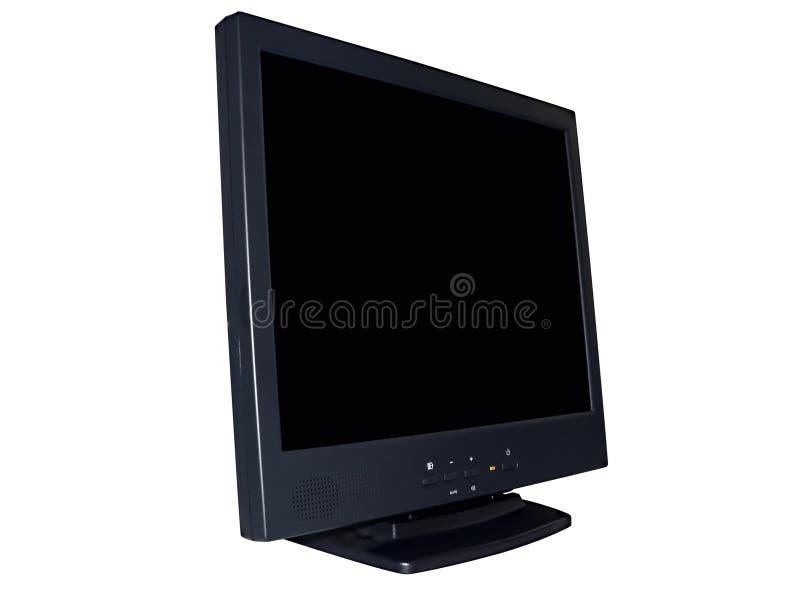 bildskärm för 2 dator royaltyfria foton
