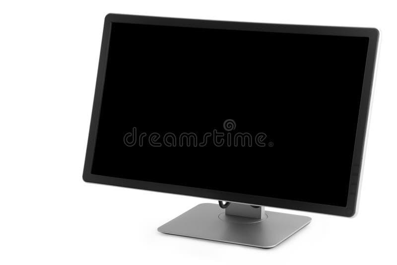Bildskärm med en svart skärm royaltyfria foton