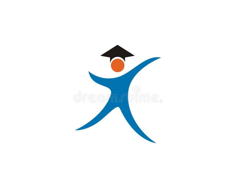 Bildungs-Logo Template-Vektorillustrationsdesign, vektor abbildung