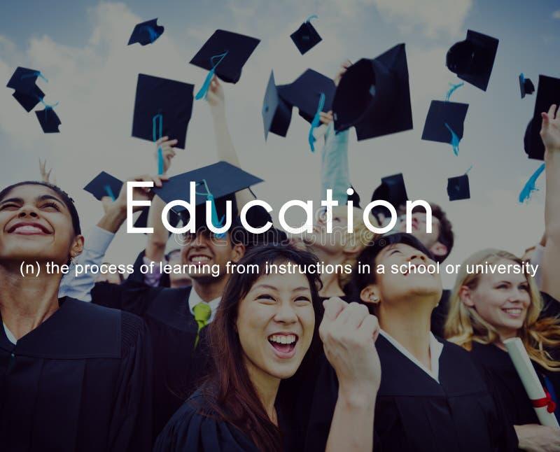 Bildungs-Wissens-Klugheit, die Konzept studierend lernt lizenzfreie stockfotografie