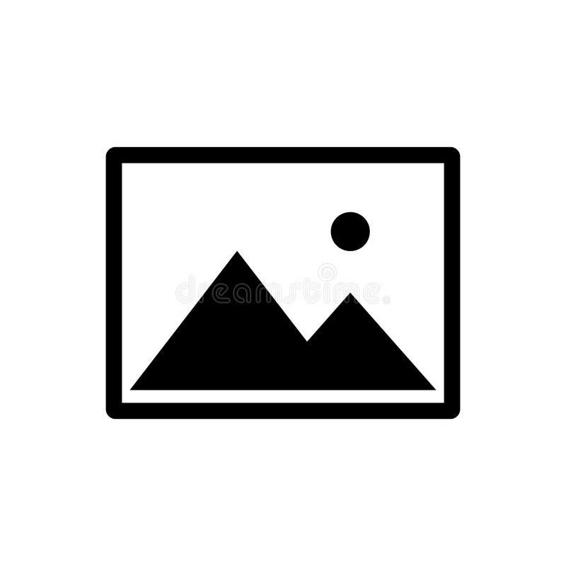 Bildvektorikone, Bildsymbol für Grafikdesign, Logo, Website, Social Media, mobiler App, Illustration lizenzfreie abbildung