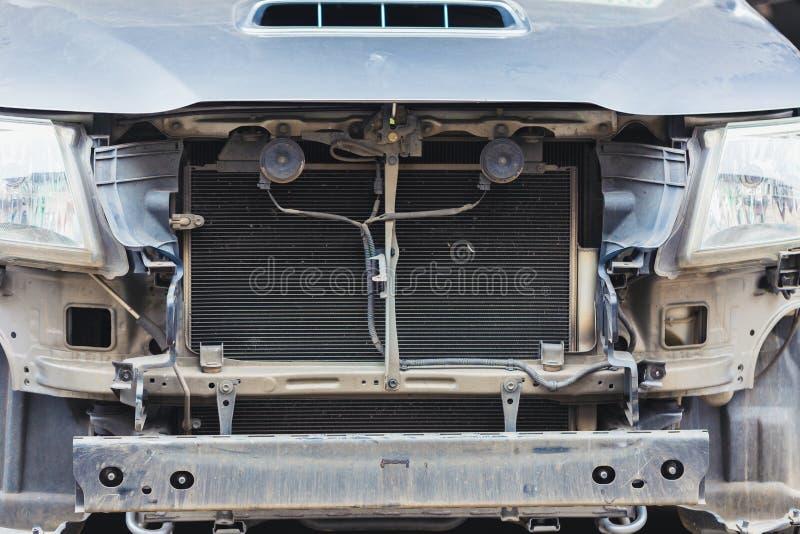 Bilelement för att kyla för motor royaltyfria foton