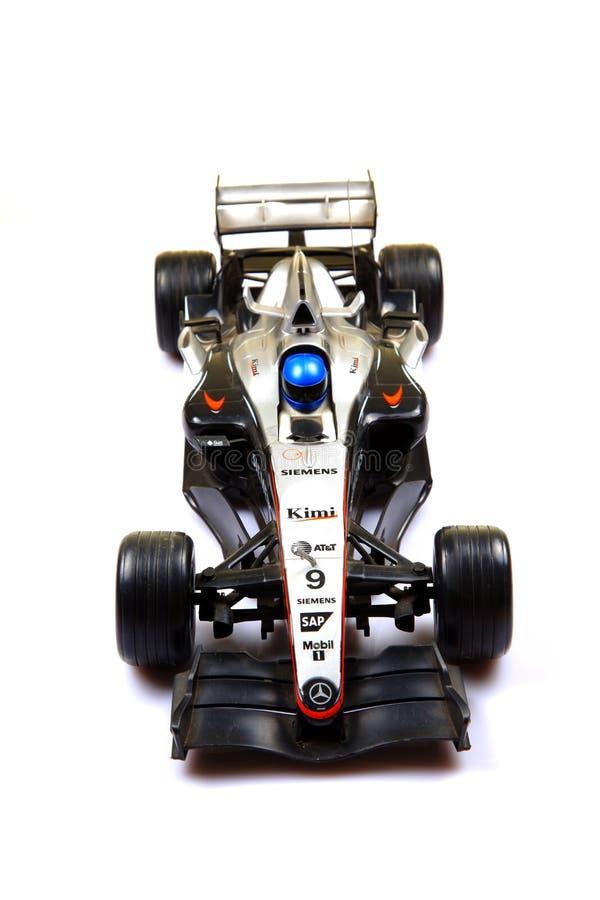 bilen f1 mclaren tävlings- royaltyfri bild