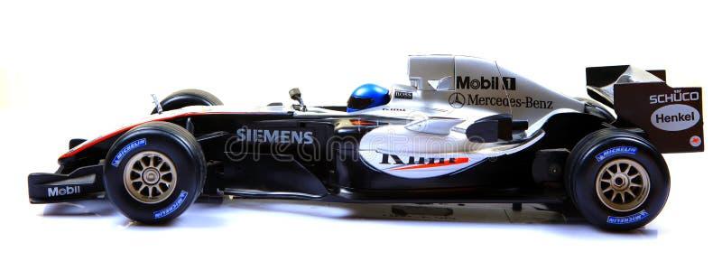 bilen f1 mclaren tävlings- sidosikt arkivbilder