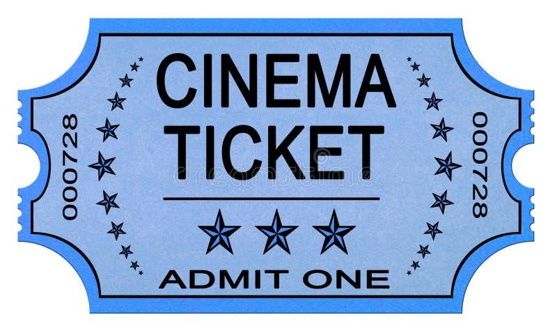 biletowy kino biel zdjęcie stock
