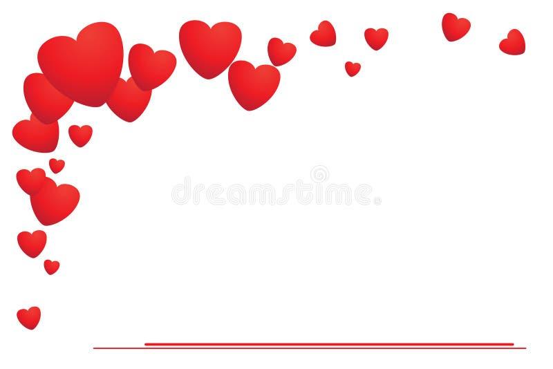 biletowy valentine ilustracja wektor