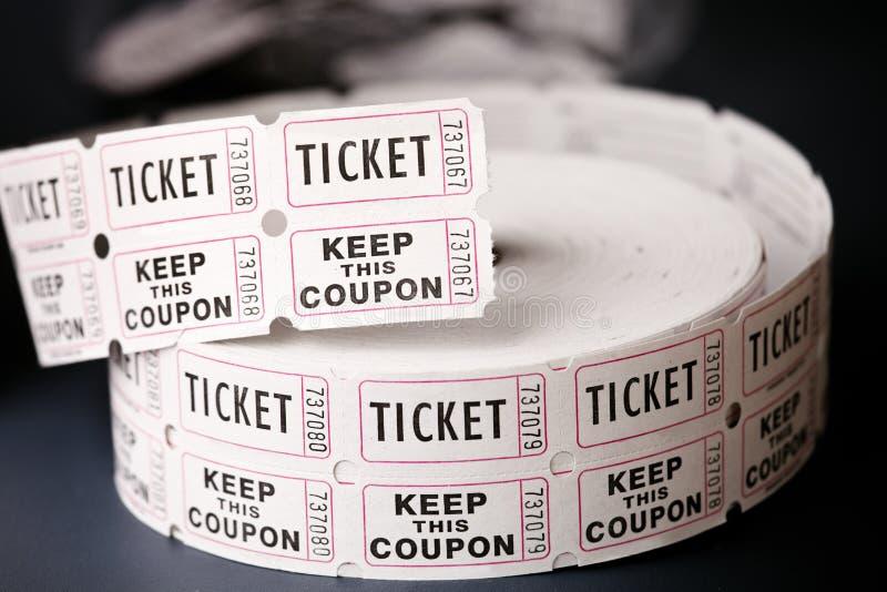 Bilety zdjęcie royalty free