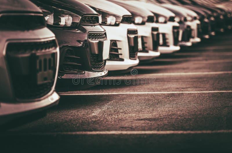 Bilförsäljningar och lånbransch fotografering för bildbyråer