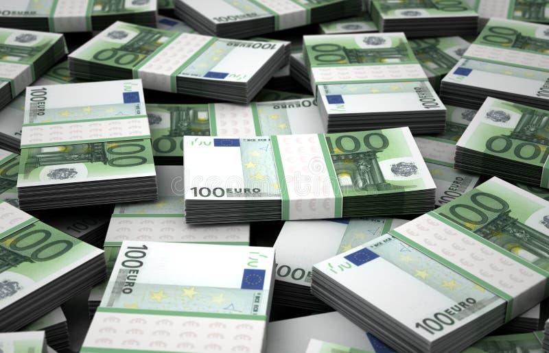 Bilhão euro ilustração stock