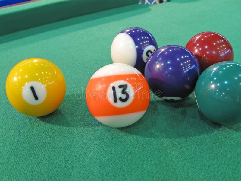 Download Bilhar-tabela Com Esferas Coloridas Foto de Stock - Imagem de campeão, diversidade: 12802588