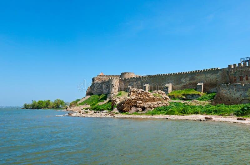 Bilhorod-Dnistrovskyi fortress Akkerman fortress stock image