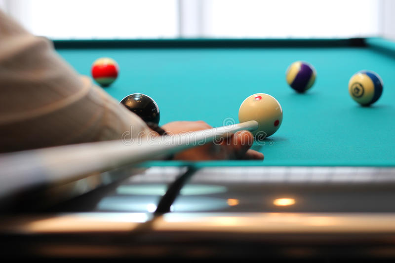 Biliard Pool stockfoto