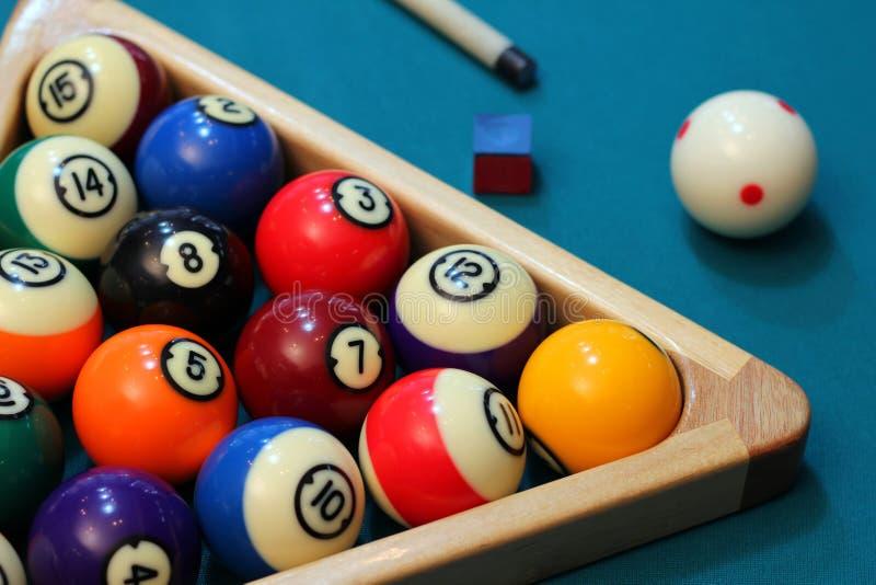 Biliard Pool stockfotos