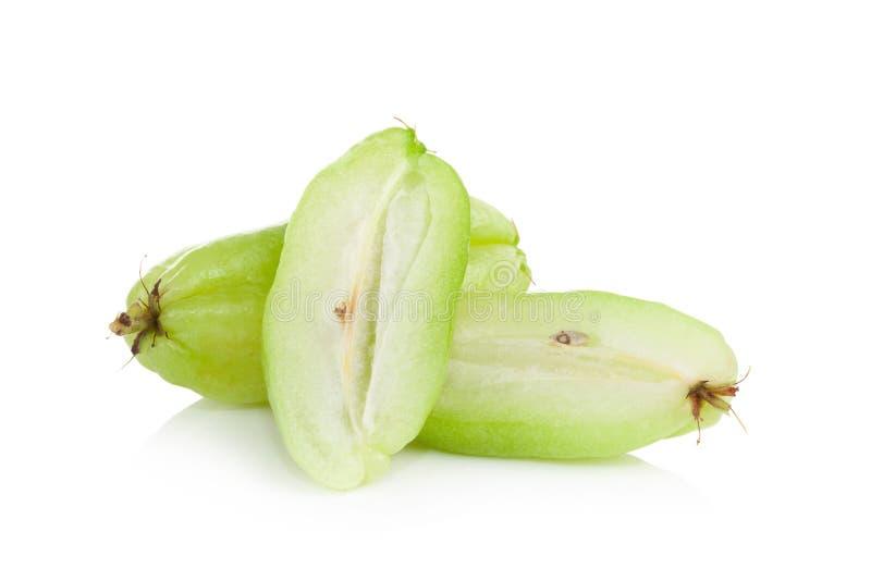 Download Bilimbi (bilimbi Linn Di Averhoa ) O Fetta Della Frutta Del Cetriolo Su Bianco Immagine Stock - Immagine di isolato, cetriolo: 56875363