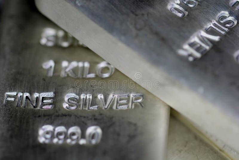 Bilion de prata fotografia de stock