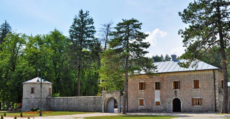 Biljarda - Cetinje - Montenegro royalty free stock photo