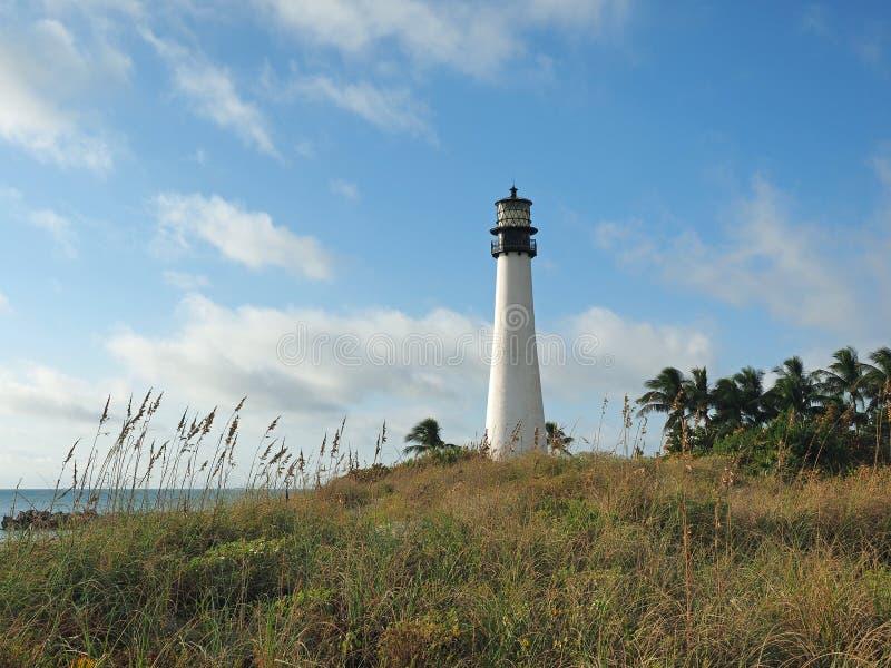 Bill Baggs Cape Florida State-Park stockbilder