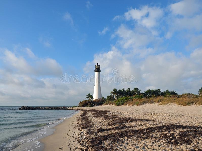 Bill Baggs Cape Florida State parkerar arkivfoton