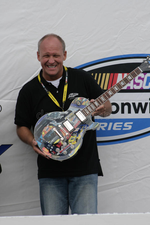 Bill Bass Gibson Guitar Trophy royalty free stock photography