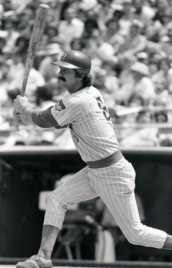 Bill Buckner Chicago Cubs foto de archivo