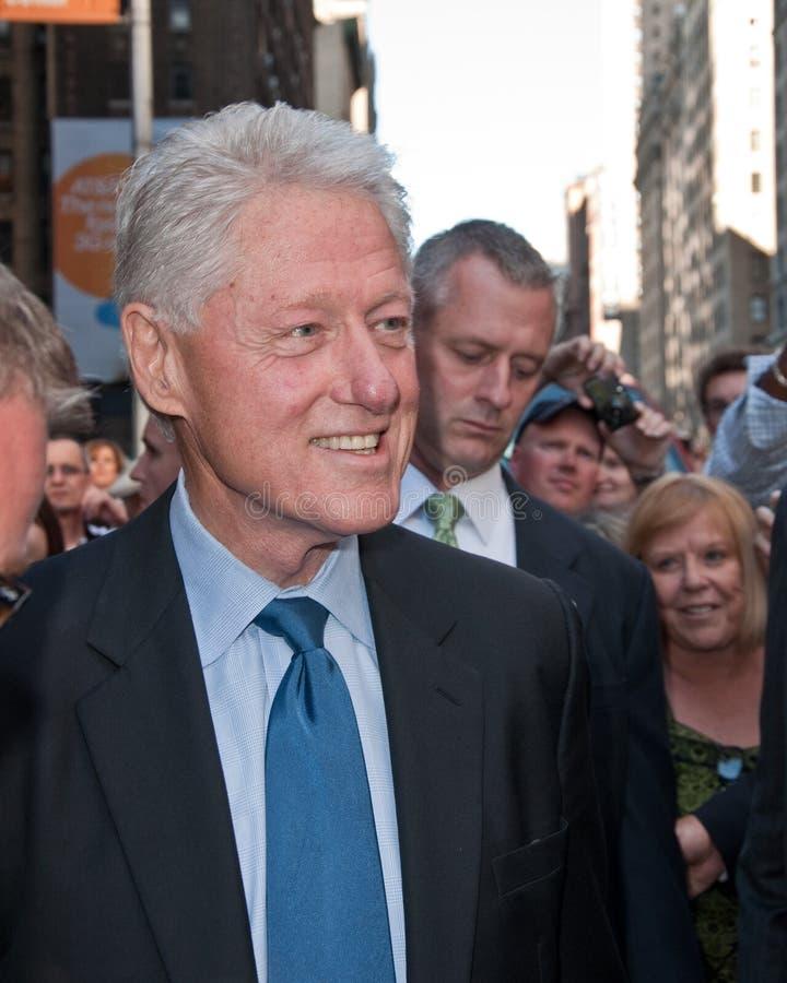 Bill Clinton fotografia stock