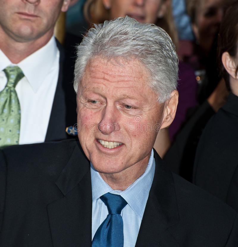 Bill Clinton stock foto