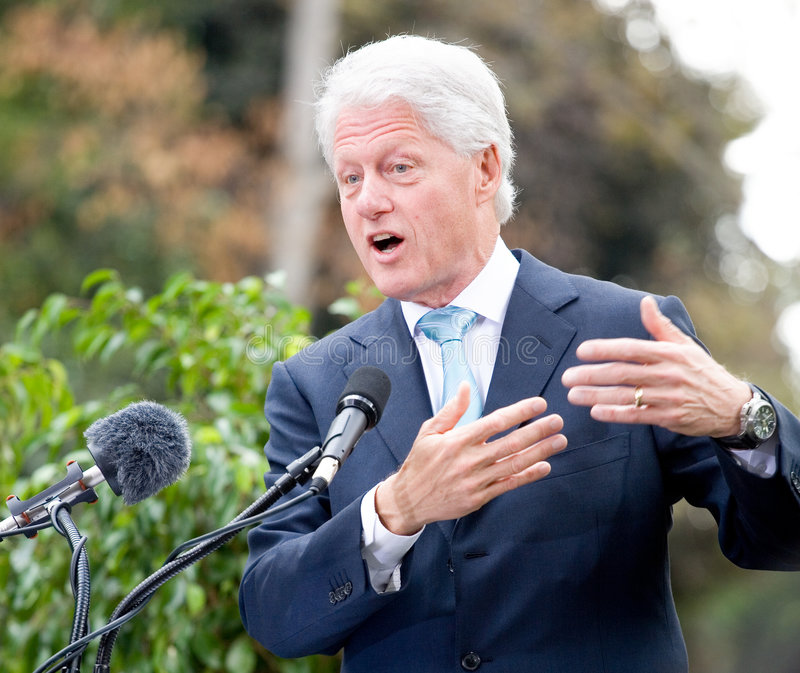 Bill Clinton 3 stock fotografie