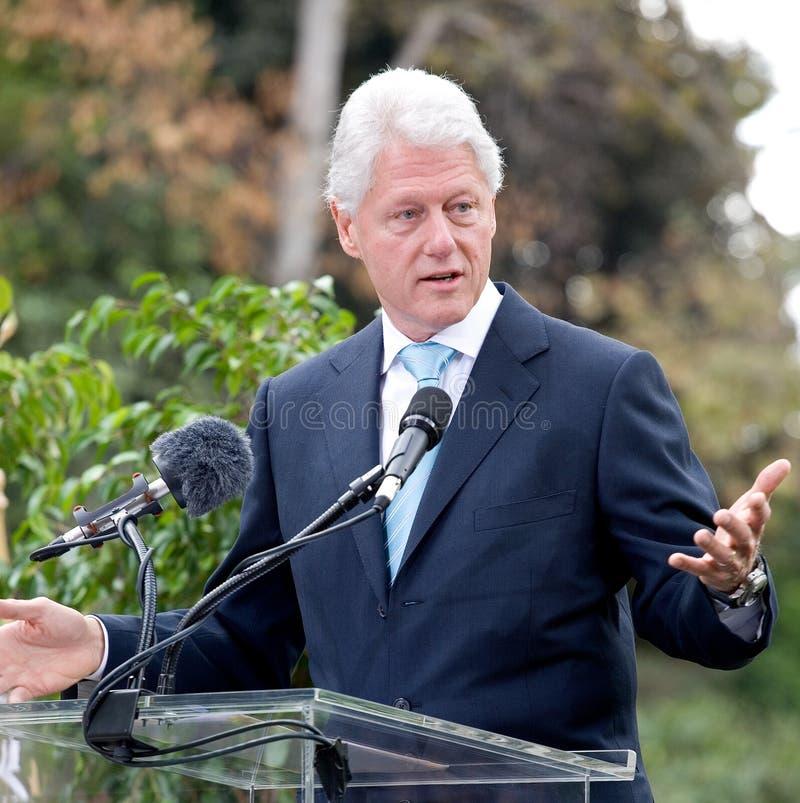 Bill Clinton 8 royalty-vrije stock foto's
