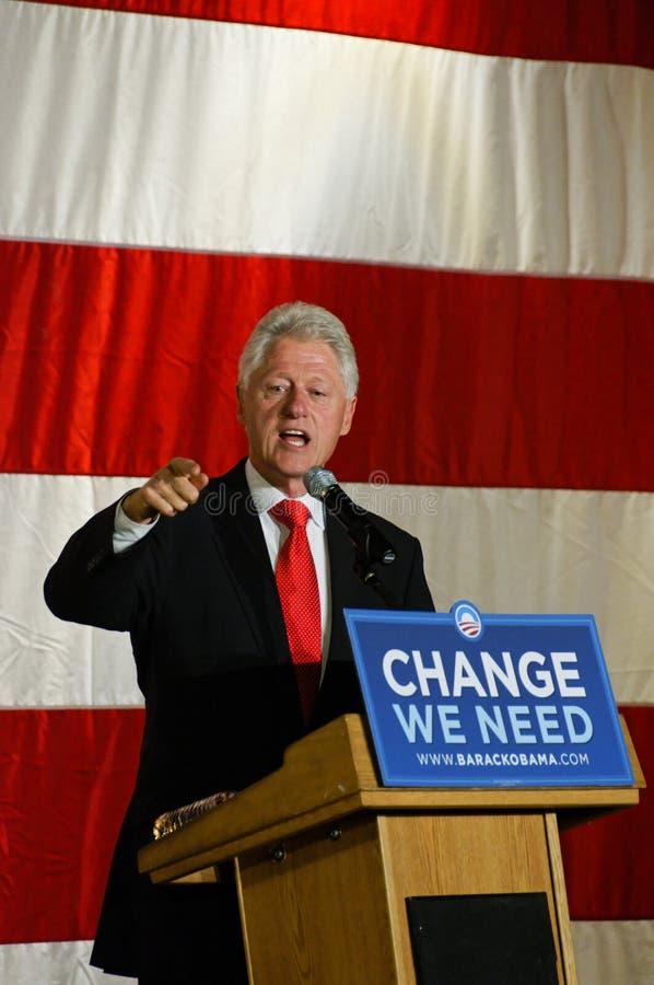 Bill Clinton president fotografering för bildbyråer