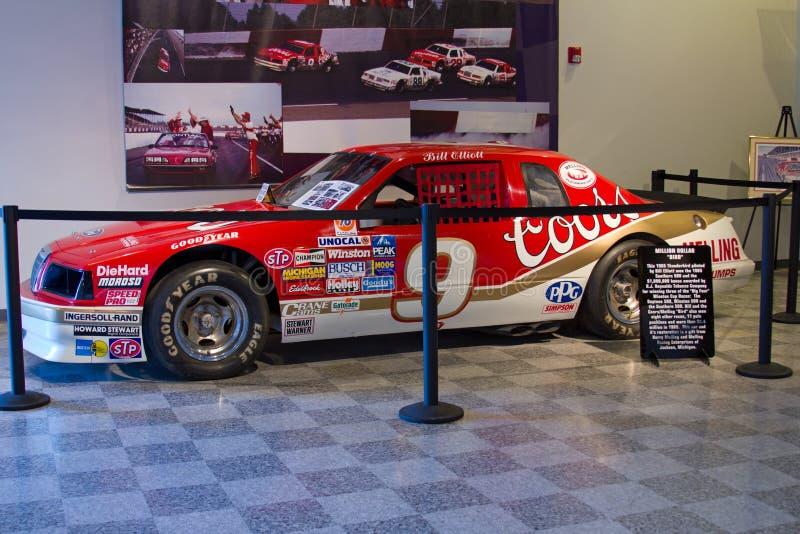 Bill Elliott NASCAR Thunderbird photo stock