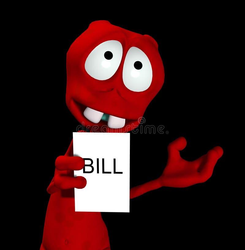 Bill estrangeiro 15 imagem de stock