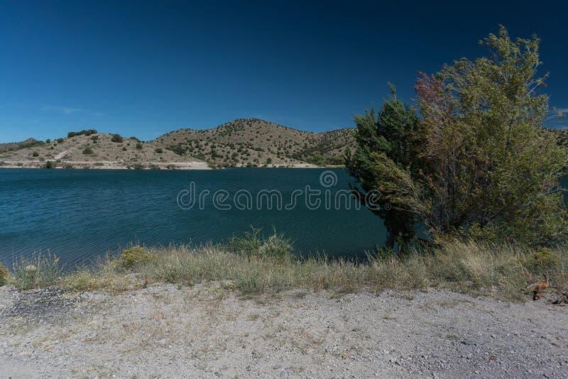 Bill Evans Lake nahe silberner Stadt, New Mexiko lizenzfreie stockfotos