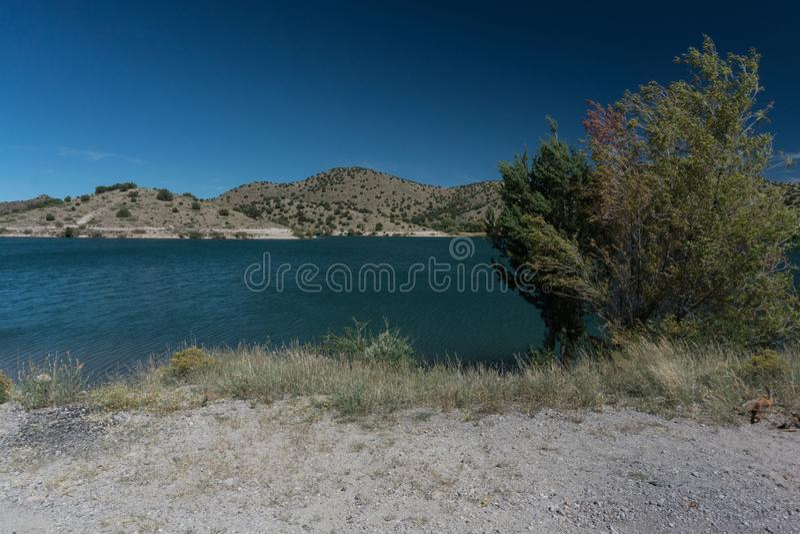 Bill Evans Lake near Silver City, New Mexico. royalty free stock photos