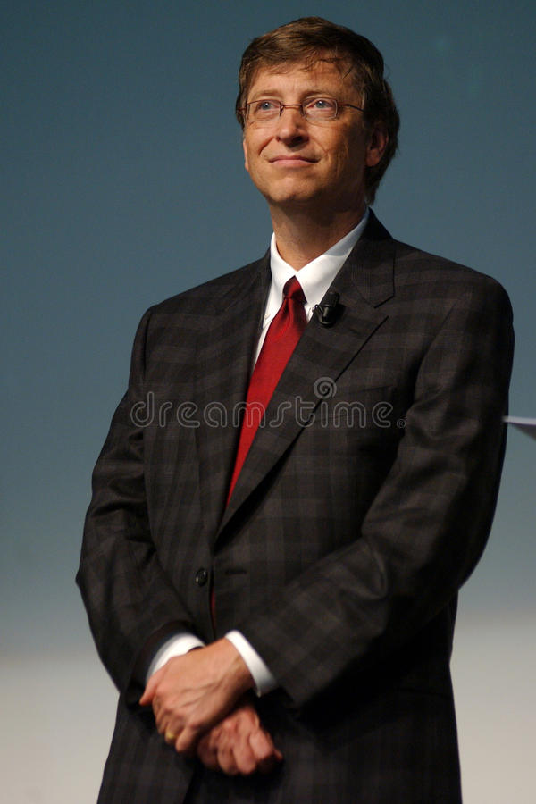 Bill gates stock photo