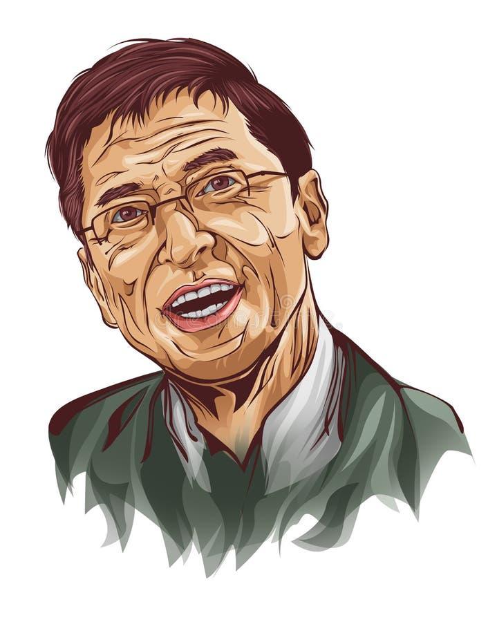 Bill Gates illustration libre de droits