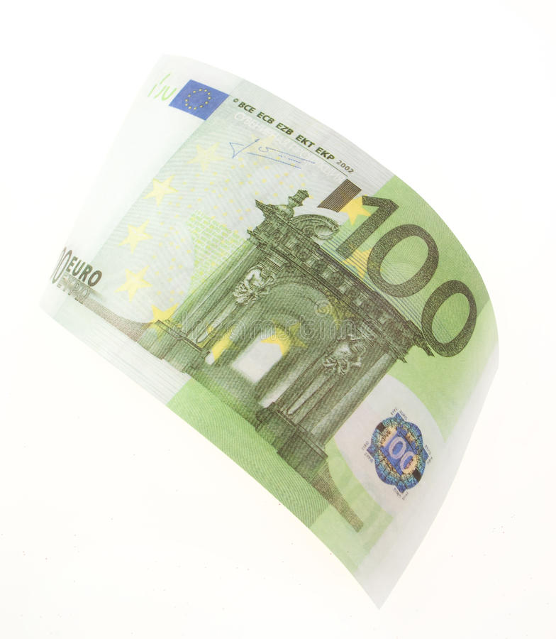 Download Bill hundred euros stock photo. Image of yellow, concepts - 18208158
