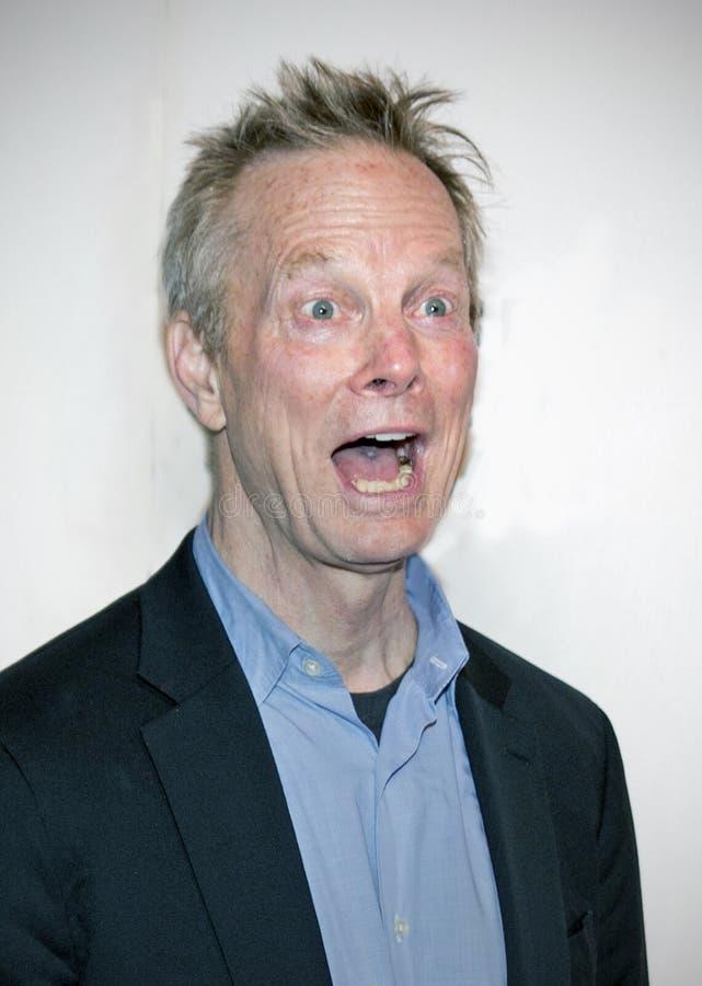 Bill Irwin przy premiera «Ono Bierze Szaleńczego «przy 2019 Tribeca festiwalem filmowym fotografia stock