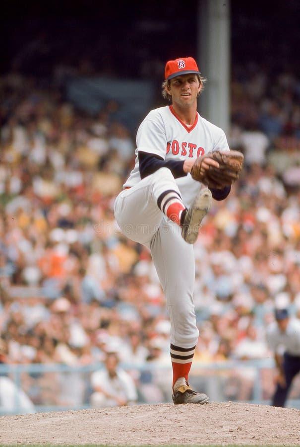 Bill Lee, lanceur des Red Sox de Boston image stock