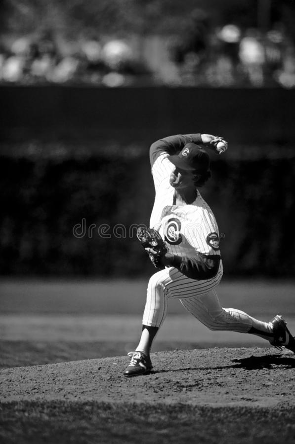 Bill Long Chicago Cubs fotografia stock libera da diritti
