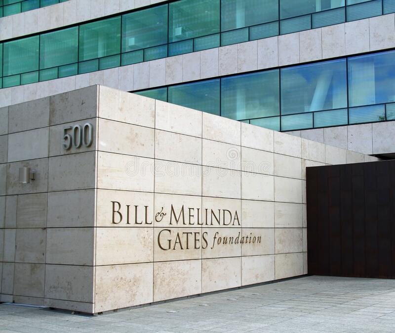 Bill and Melinda Gates Foundation royalty free stock photography