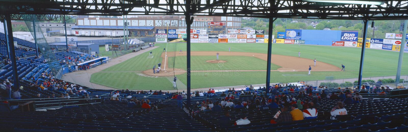 Bill Meyer stadion royaltyfria bilder