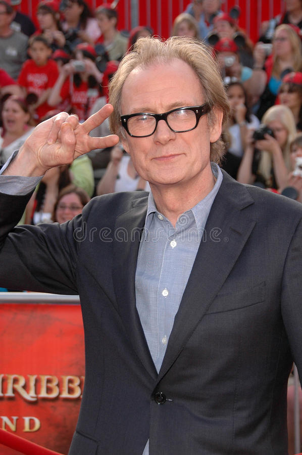 Download Bill Nighy editorial stock image. Image of pirates, world - 24304914