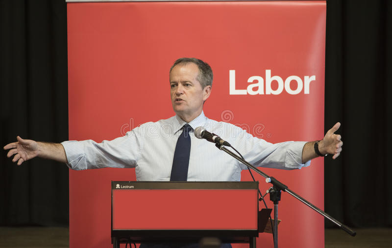 Bill Shorten, Australier-Arbeitsparteichef stockbilder