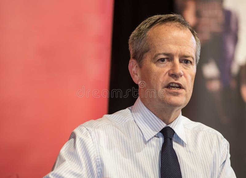 Bill Shorten, australischer Spitzenpolitiker lizenzfreie stockfotos