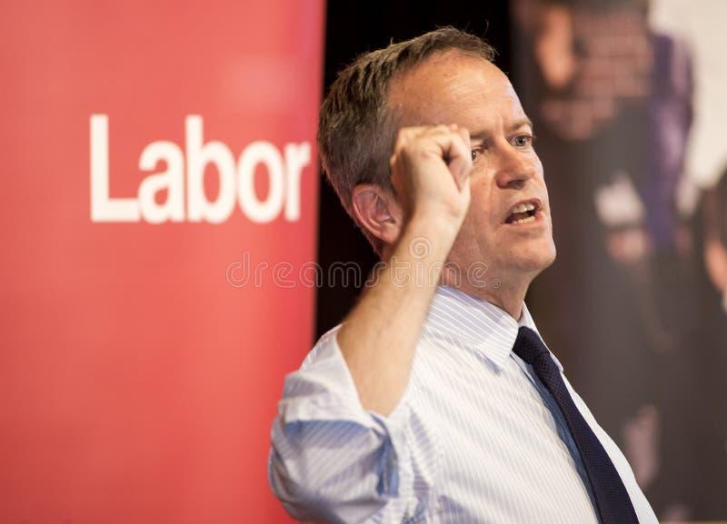 Bill Shorten australisk politisk ledare royaltyfri foto