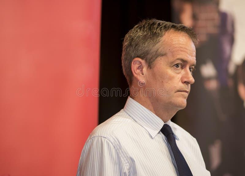 Bill Shorten australisk politisk ledare arkivfoto