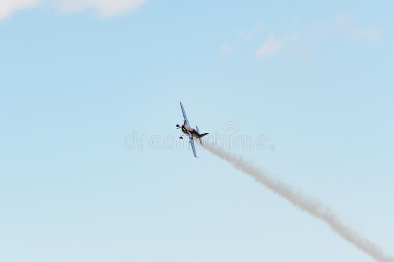 Bill Stein is flying an a Zivko Edge 540 stock images