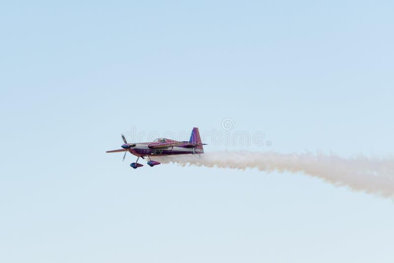 Bill Stein is flying an a Zivko Edge 540 stock photos